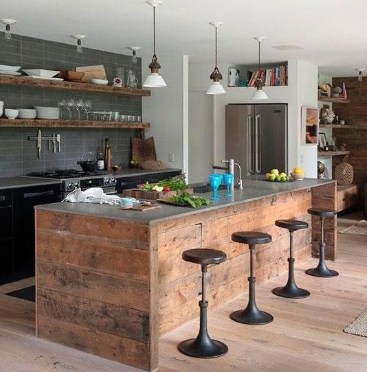 Favoloso Cucina industrial cucina moderna stile industrial BR76