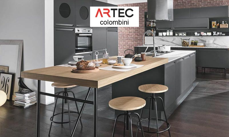 cucine moderne stile industriale
