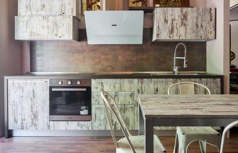 Nuovimondicucine cucine moderne componibili stile industrial vintage etno - Cucina stile etnico ...