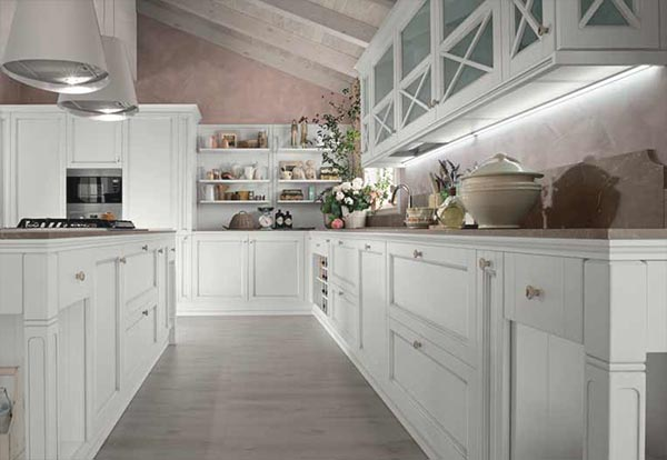 Cucina sinfonia colombini in stile shabby moderno - Cucina shabby moderno ...