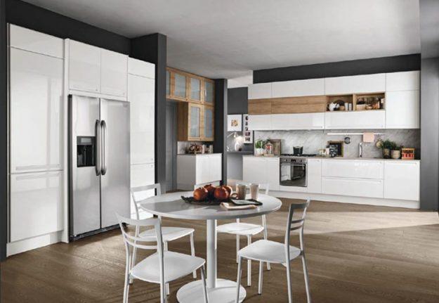 Cucina moderna archivi nuovimondicucine - Cucina bianca opaca ...