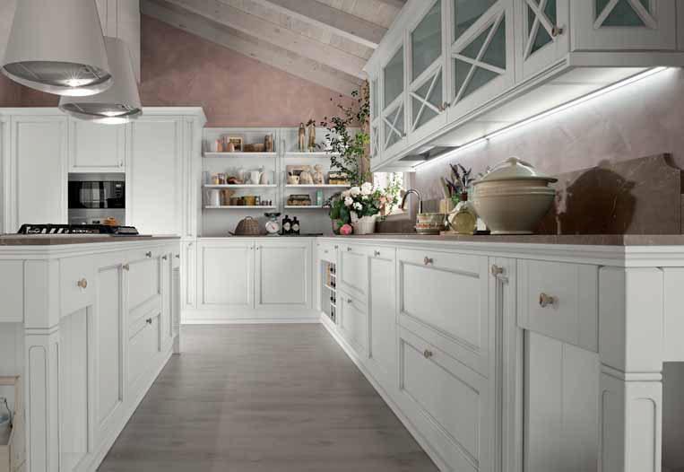 Cucina Bianca Classica - Idee Per La Casa - Phxated.com