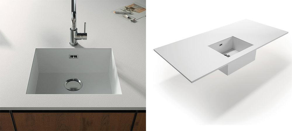 piano hpl lavabo
