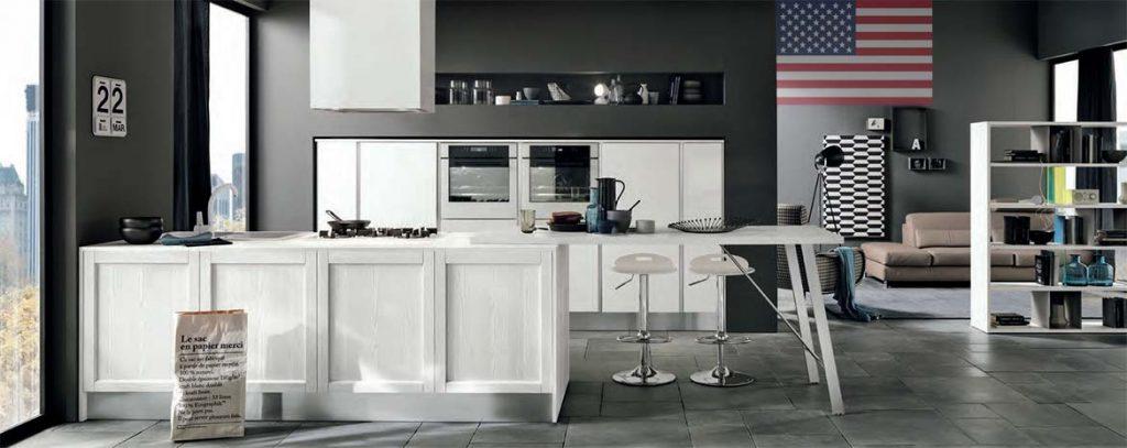 Cucine americane, arredare la cucina all'americana foto e idee