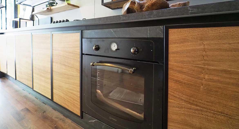 cucine moderne in legno naturale